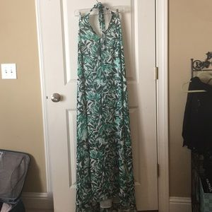 FAB'RIK Halter Maxi Dress Size Medium
